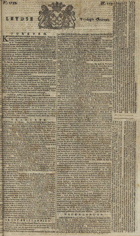 Leydse Courant 1759-10-26