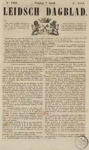 Leidsch Dagblad 1864-04-08