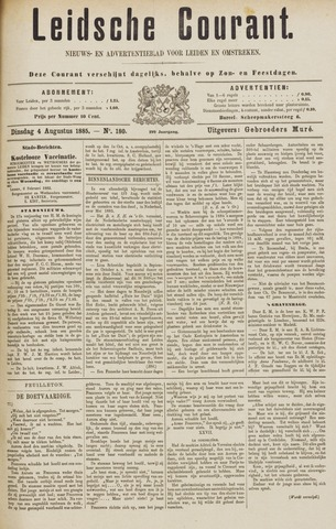 Leydse Courant 1885-08-04