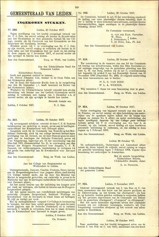 Handelingen van de Raad 1917-10-23