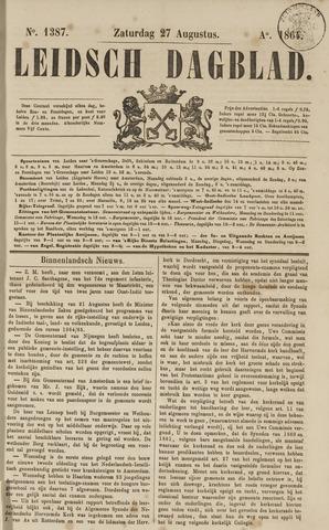 Leidsch Dagblad 1864-08-27