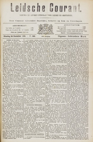 Leydse Courant 1889-12-24
