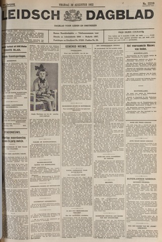Leidsch Dagblad 1932-08-26