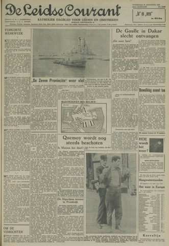Leidse Courant 1958-08-27