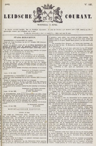 Leydse Courant 1882-06-14