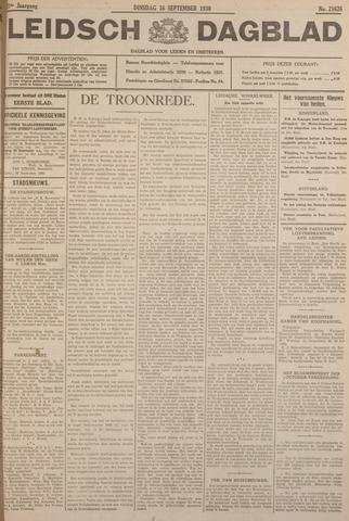 Leidsch Dagblad 1930-09-16