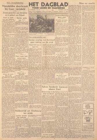 Dagblad voor Leiden en Omstreken 1944-07-03