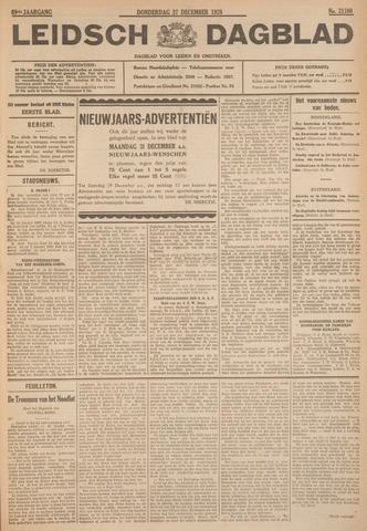 Leidsch Dagblad 1928-12-27