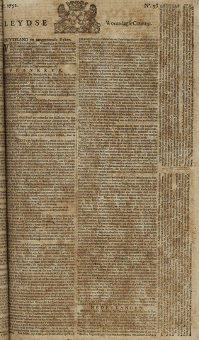 Leydse Courant 1752-08-16