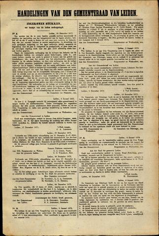 Handelingen van de Raad 1877-12-28