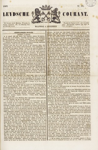 Leydse Courant 1862-08-04