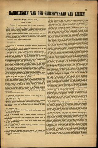 Handelingen van de Raad 1872-03-01