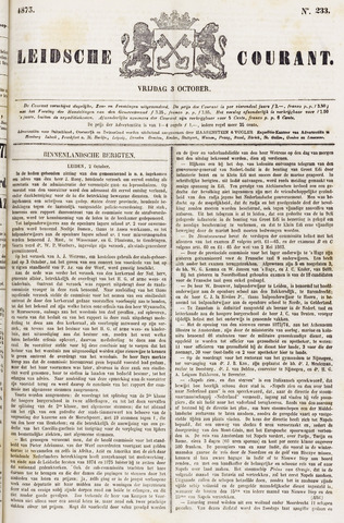 Leydse Courant 1873-10-03