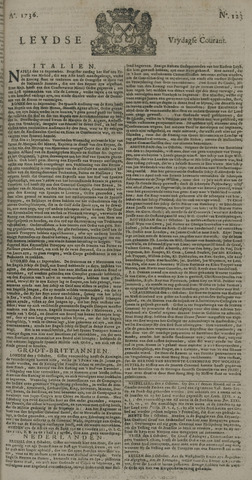 Leydse Courant 1736-10-12