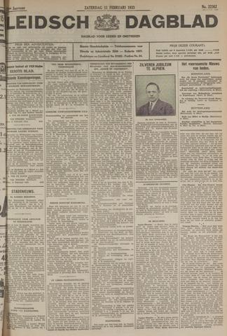 Leidsch Dagblad 1933-02-11