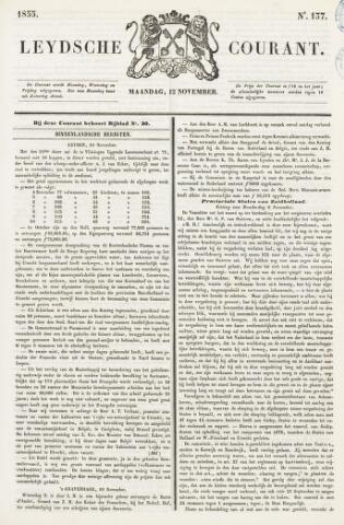 Leydse Courant 1855-11-12