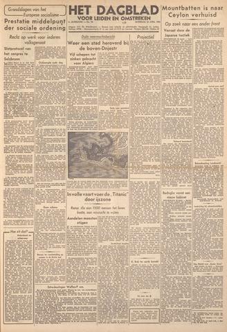 Dagblad voor Leiden en Omstreken 1944-04-22