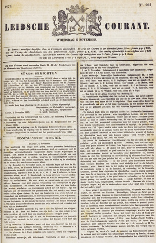 Leydse Courant 1879-11-05