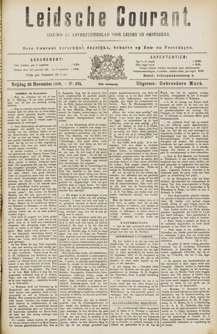 Leydse Courant 1889-11-22