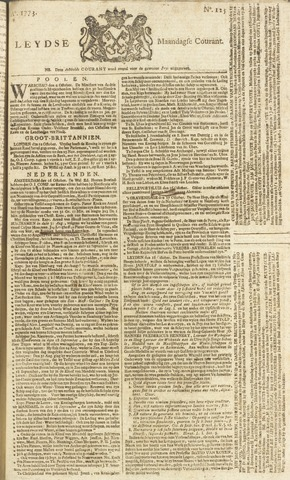 Leydse Courant 1773-10-18