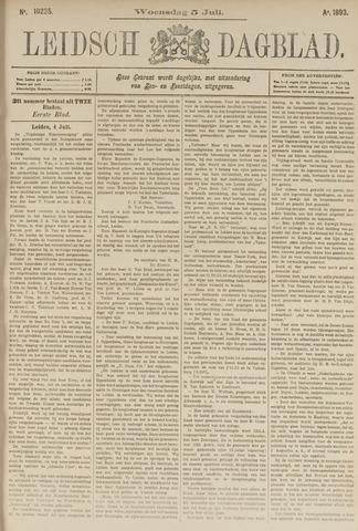 Leidsch Dagblad 1893-07-05