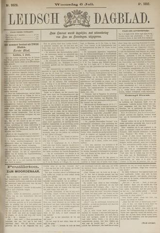 Leidsch Dagblad 1892-07-06