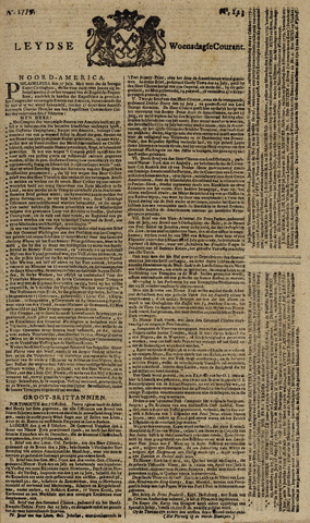 Leydse Courant 1779-10-13
