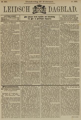 Leidsch Dagblad 1890-02-27