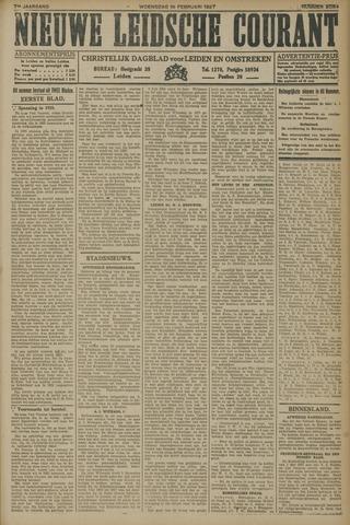 Nieuwe Leidsche Courant 1927-02-16