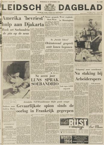 Leidsch Dagblad 1963-09-25