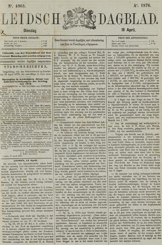 Leidsch Dagblad 1876-04-18
