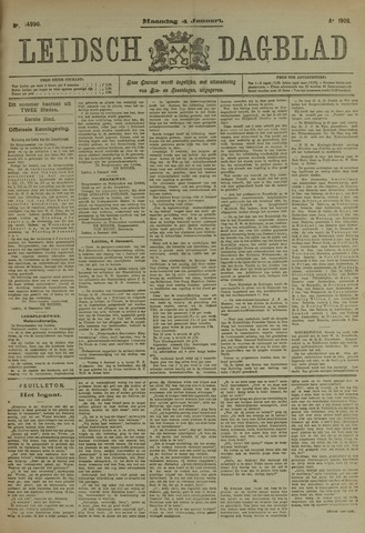 Leidsch Dagblad 1909-01-04