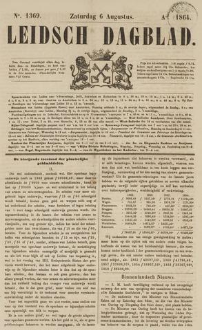 Leidsch Dagblad 1864-08-06