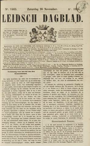 Leidsch Dagblad 1864-11-26