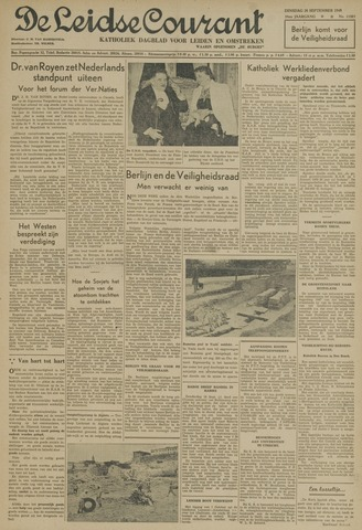 Leidse Courant 1948-09-28