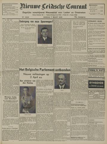 Nieuwe Leidsche Courant 1939-03-07
