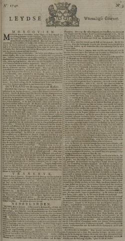 Leydse Courant 1740-01-20