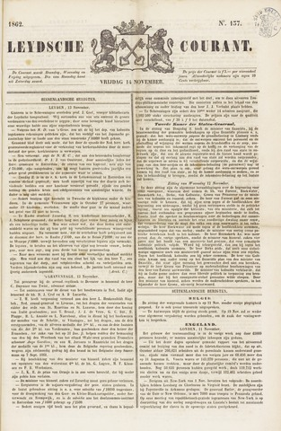Leydse Courant 1862-11-14