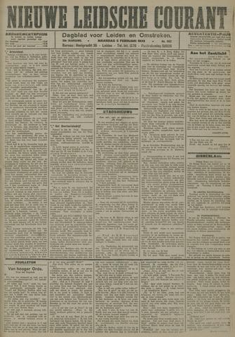 Nieuwe Leidsche Courant 1923-02-05