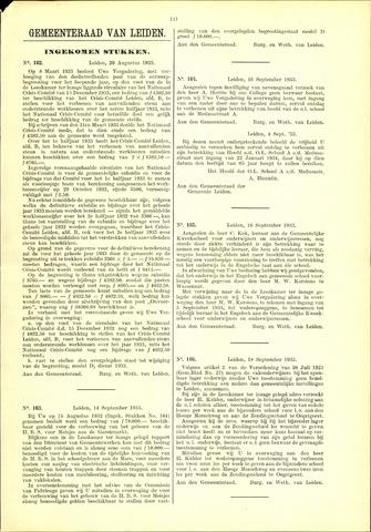Handelingen van de Raad 1933-08-29