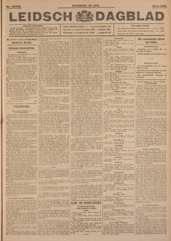 Leidsch Dagblad 1926-06-26