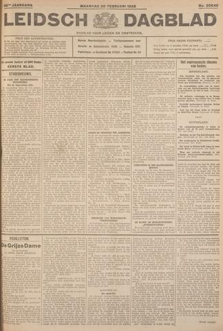 Leidsch Dagblad 1928-02-20
