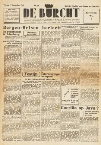 De Burcht 1945-09-21