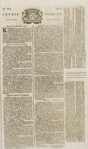Leydse Courant 1815-06-28