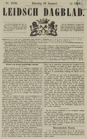 Leidsch Dagblad 1867-01-29
