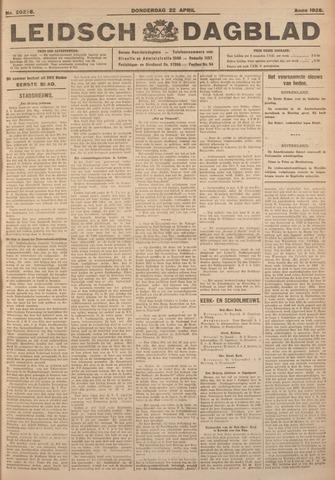 Leidsch Dagblad 1926-04-22