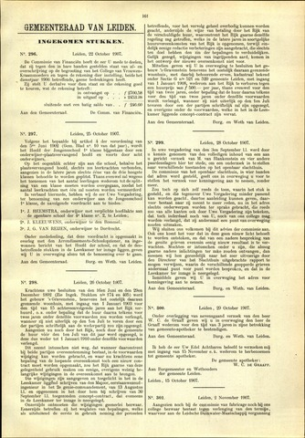 Handelingen van de Raad 1907-10-22