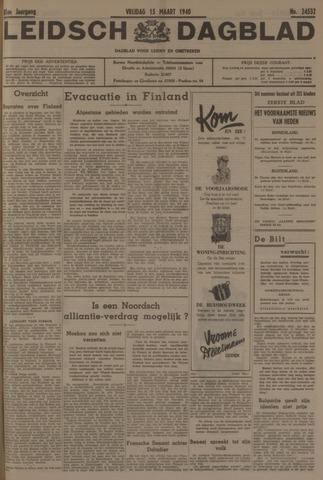 Leidsch Dagblad 1940-03-15