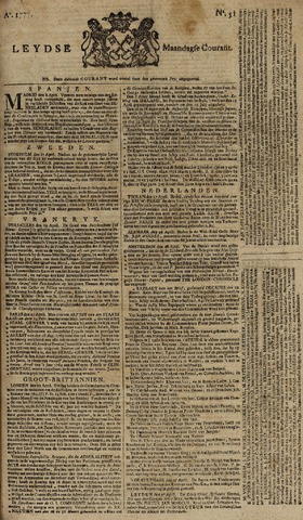 Leydse Courant 1777-04-28