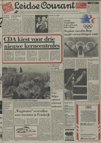 Leidse Courant 1984-08-09